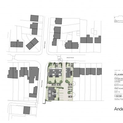 Cricket Road Site Plan (Roofs)