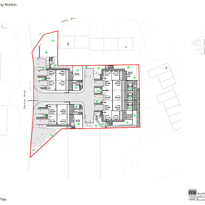 Station Road, Chipping Norton, Site Plan