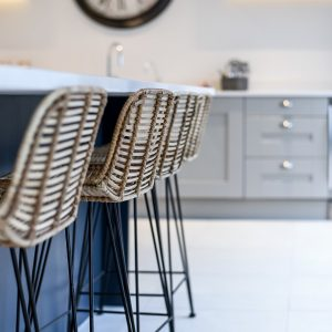 Stanton Court Show Home - Kitchen Bar Stools