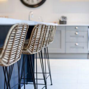 Stanton Court Show Home - Kitchen Bar Stools