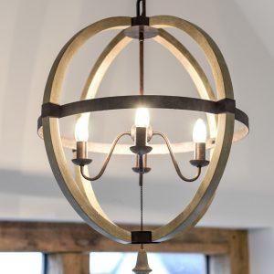 Stanton Court Show Home - Hall Light Close Up