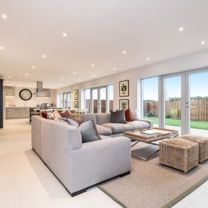 Stanton Court Show Home - Family Room