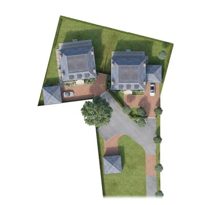 Site Plan - Cumnor Hill