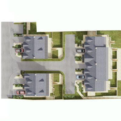 Walter Craft Court Site Plan